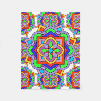 Mandalas Fleece Blanket