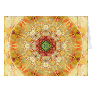 Mandalas for Times of Transition 12 Card