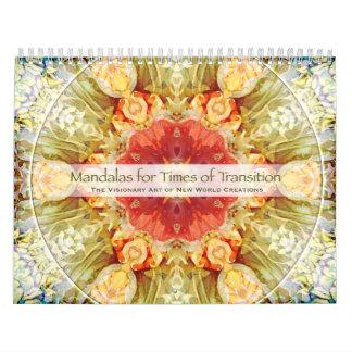Mandalas for Times of Transition Calendar