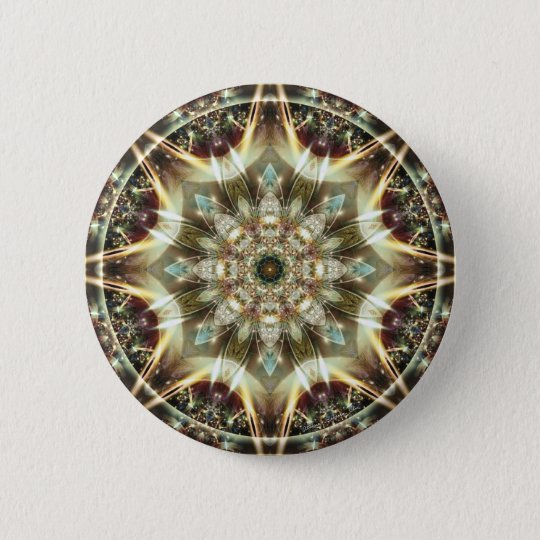 Mandalas from the Heart of Change 10, Gift Items 2 Inch Round Button