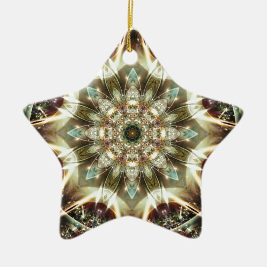 Mandalas from the Heart of Change 10, Gift Items Ceramic Ornament