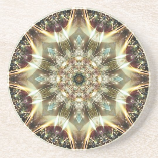 Mandalas from the Heart of Change 10, Gift Items Coaster