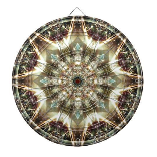 Mandalas from the Heart of Change 10, Gift Items Dartboard