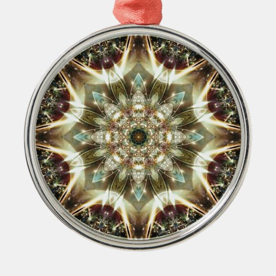 Mandalas from the Heart of Change 10, Gift Items Metal Ornament