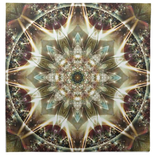 Mandalas from the Heart of Change 10, Gift Items Napkin