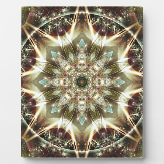 Mandalas from the Heart of Change 10, Gift Items Plaque