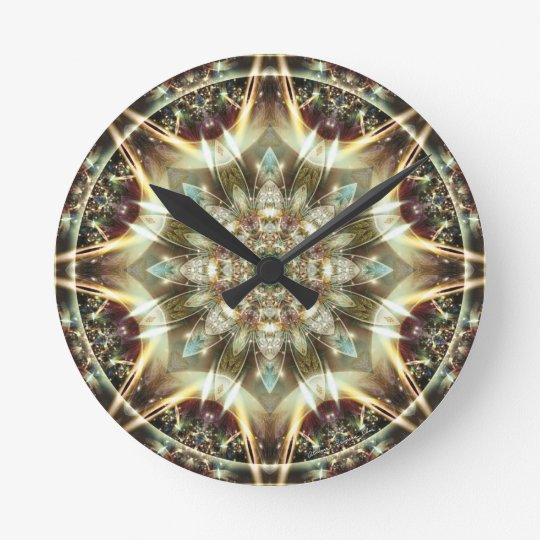 Mandalas from the Heart of Change 10, Gift Items Round Clock