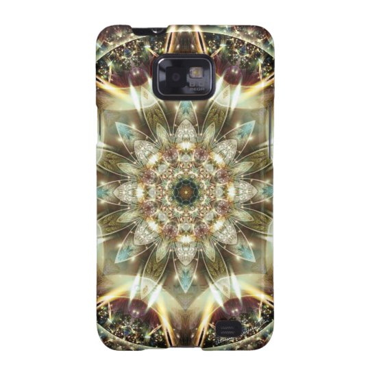 Mandalas from the Heart of Change 10, Gift Items Samsung Galaxy SII Cover