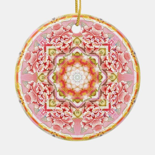 Mandalas from the Heart of Change 11, Gift Items Ceramic Ornament