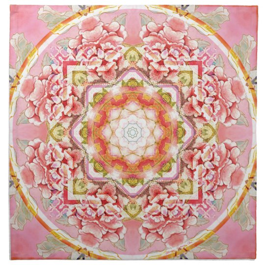 Mandalas from the Heart of Change 11, Gift Items Napkin