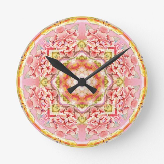 Mandalas from the Heart of Change 11, Gift Items Round Clock