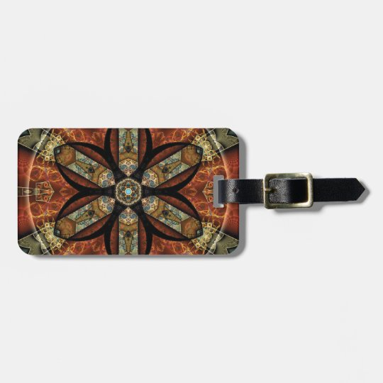 Mandalas from the Heart of Change 12, Gift Items Luggage Tag