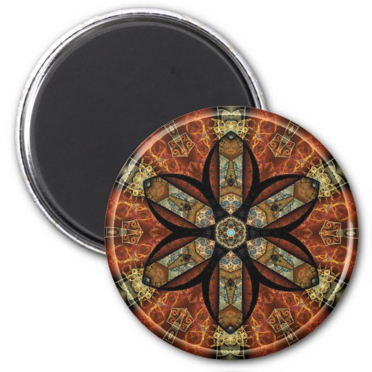 Mandalas from the Heart of Change 12, Gift Items Magnet