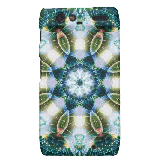 Mandalas from the Heart of Change 13, Gift Items Motorola Droid RAZR Cover