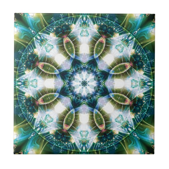 Mandalas from the Heart of Change 13, Gift Items Tile