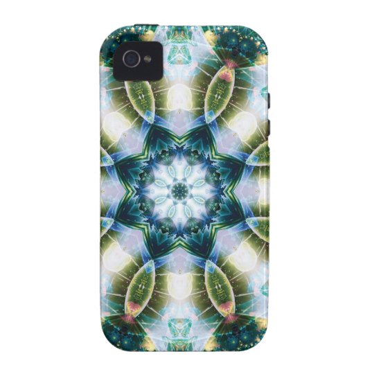 Mandalas from the Heart of Change 13, Gift Items Vibe iPhone 4 Cover