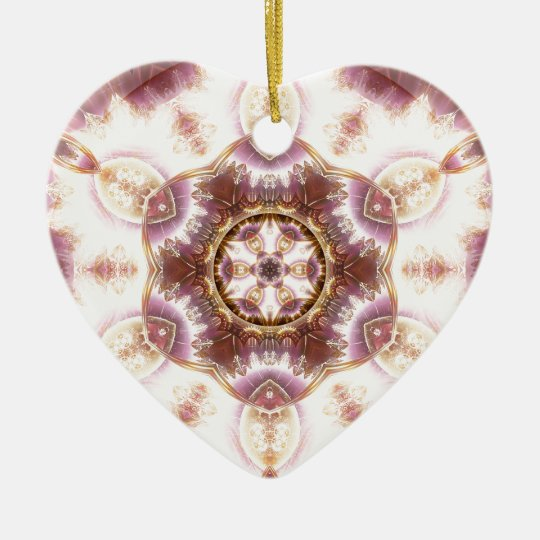Mandalas from the Heart of Change 14, Gift Items Ceramic Ornament