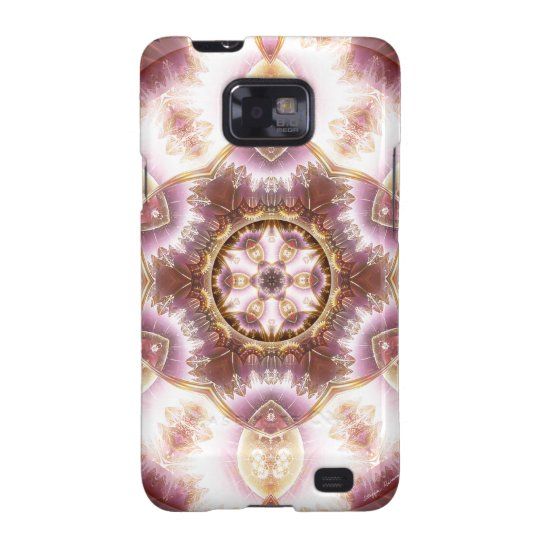 Mandalas from the Heart of Change 14, Gift Items Galaxy SII Case