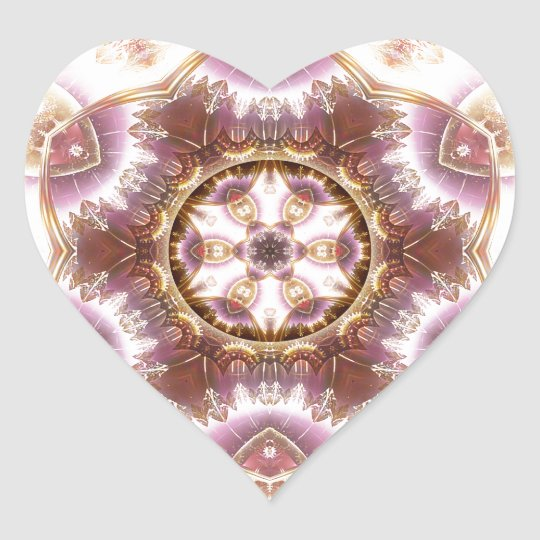 Mandalas from the Heart of Change 14, Gift Items Heart Sticker