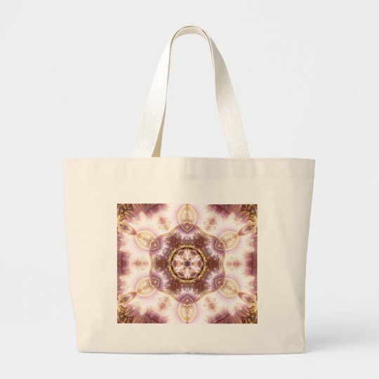 Mandalas from the Heart of Change 14, Gift Items Large Tote Bag
