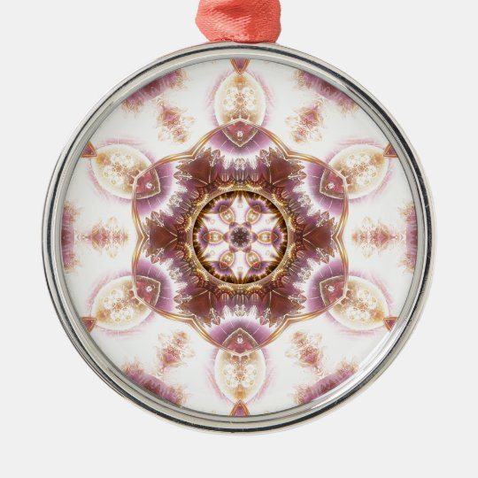 Mandalas from the Heart of Change 14, Gift Items Metal Ornament
