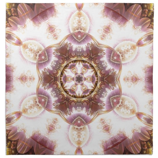 Mandalas from the Heart of Change 14, Gift Items Napkin