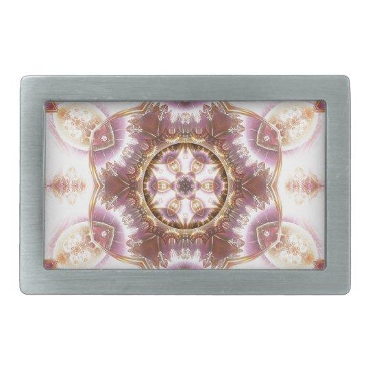 Mandalas from the Heart of Change 14, Gift Items Rectangular Belt Buckle