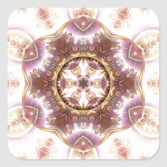 Mandalas from the Heart of Change 14, Gift Items Square Sticker
