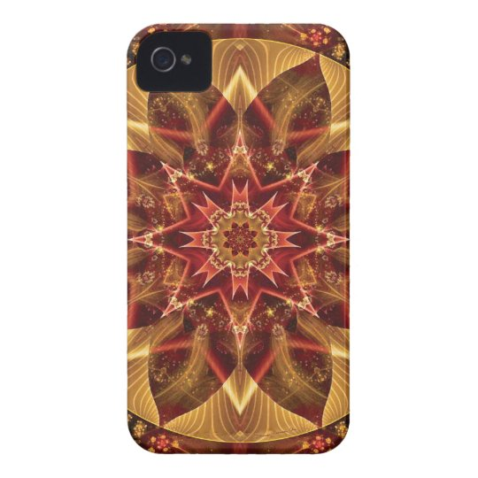Mandalas from the Heart of Change 15, Gift Items iPhone 4 Case-Mate Case