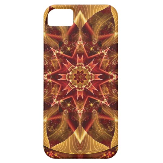 Mandalas from the Heart of Change 15, Gift Items iPhone 5 Case