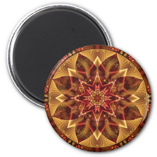 Mandalas from the Heart of Change 15, Gift Items Magnet