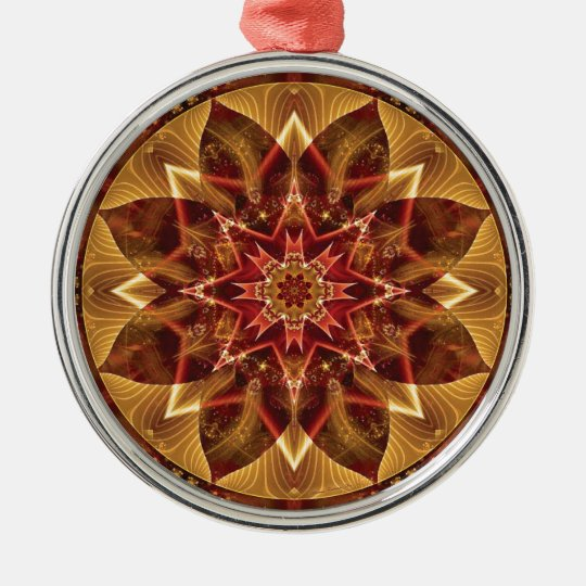 Mandalas from the Heart of Change 15, Gift Items Metal Ornament