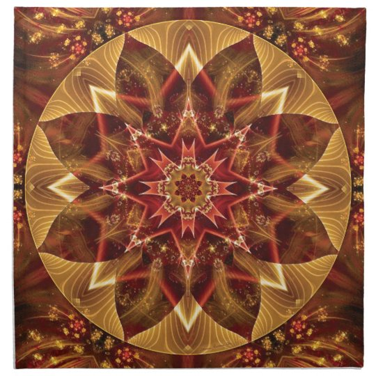 Mandalas from the Heart of Change 15, Gift Items Napkin