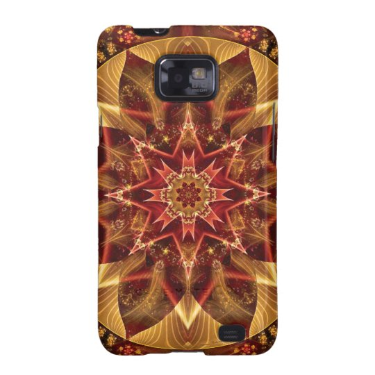 Mandalas from the Heart of Change 15, Gift Items Samsung Galaxy S2 Case