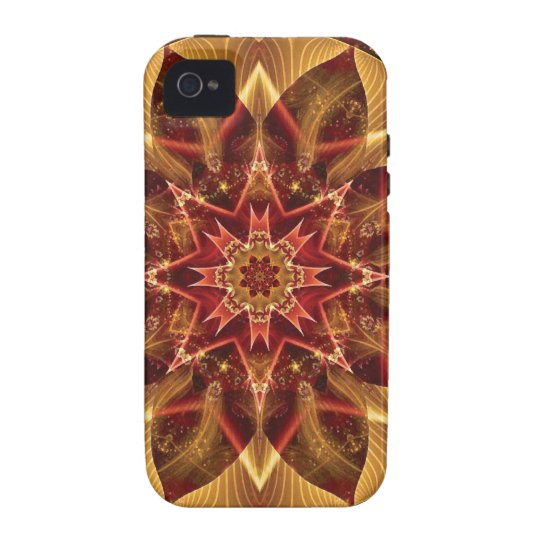 Mandalas from the Heart of Change 15, Gift Items Vibe iPhone 4 Case