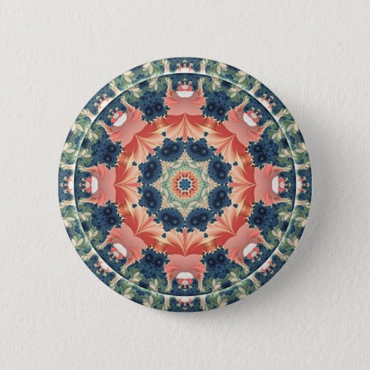 Mandalas from the Heart of Change 16, Gift Items 2 Inch Round Button
