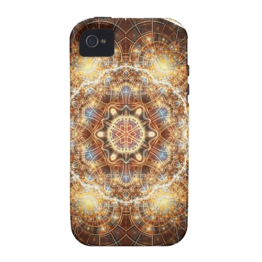 Mandalas from the Heart of Change 17, Gift Items iPhone 4 Case