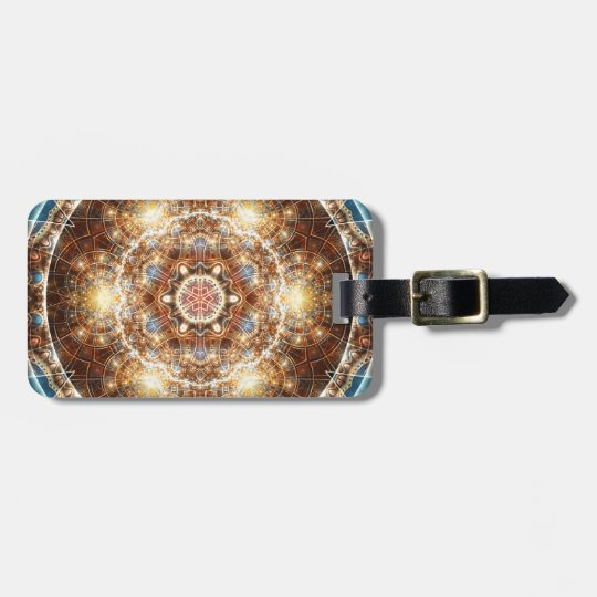 Mandalas from the Heart of Change 17, Gift Items Luggage Tag
