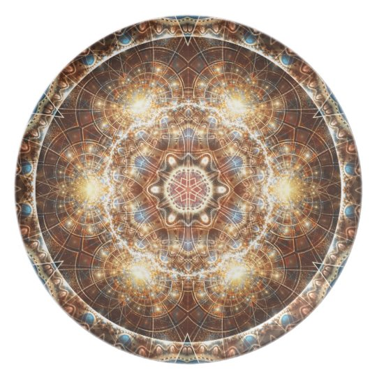Mandalas from the Heart of Change 17, Gift Items Plate
