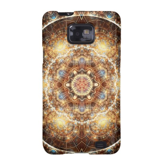 Mandalas from the Heart of Change 17, Gift Items Samsung Galaxy SII Cover