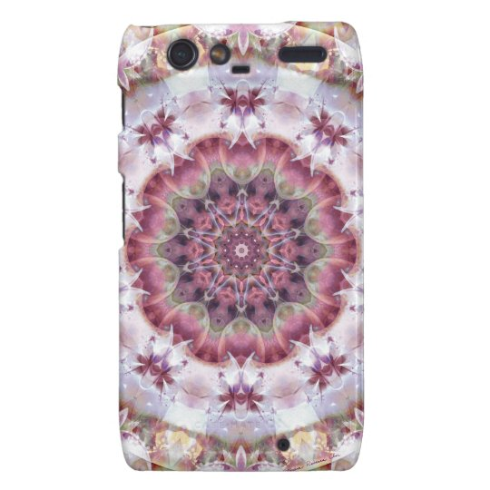 Mandalas from the Heart of Change 18, Gift Items Droid RAZR Cover