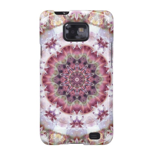 Mandalas from the Heart of Change 18, Gift Items Galaxy SII Case