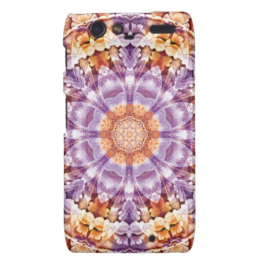 Mandalas from the Heart of Change 19, Gift Items Droid RAZR Cover