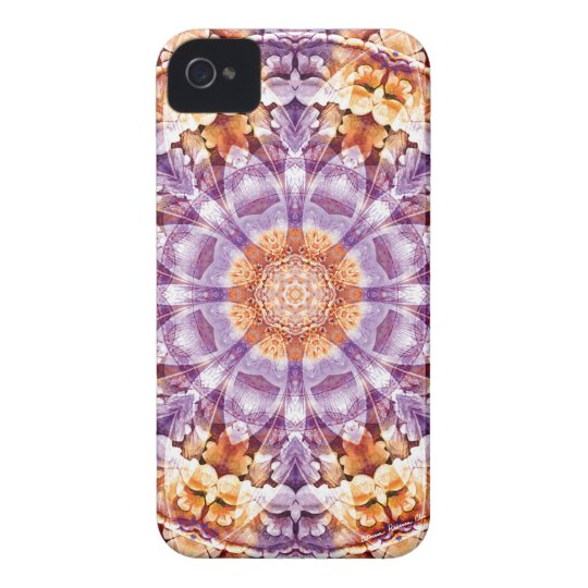 Mandalas from the Heart of Change 19, Gift Items iPhone 4 Cover
