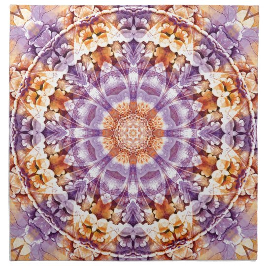 Mandalas from the Heart of Change 19, Gift Items Napkin
