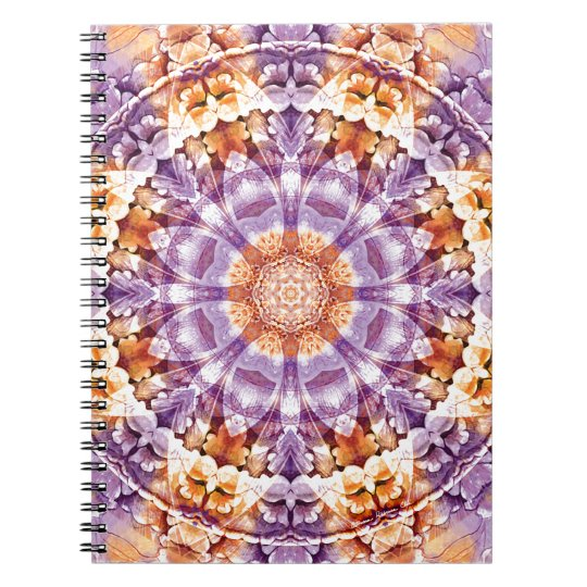 Mandalas from the Heart of Change 19, Gift Items Spiral Notebook