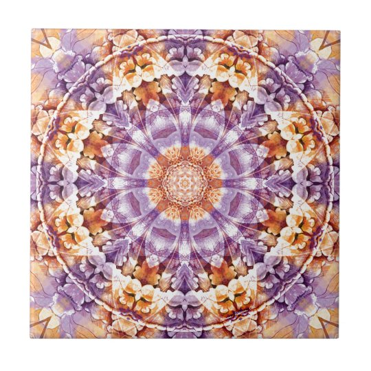 Mandalas from the Heart of Change 19, Gift Items Tile