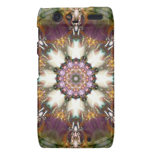 Mandalas from the Heart of Change 1, Gift Products Motorola Droid RAZR Case