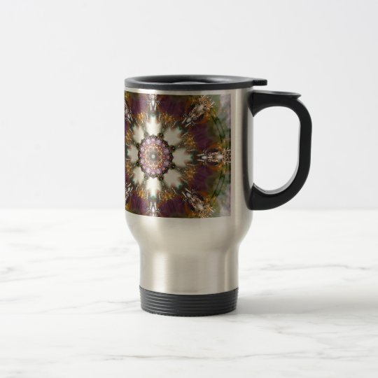 Mandalas from the Heart of Change 1, Gift Products Travel Mug