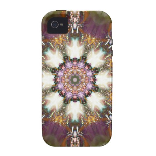 Mandalas from the Heart of Change 1, Gift Products Vibe iPhone 4 Cover